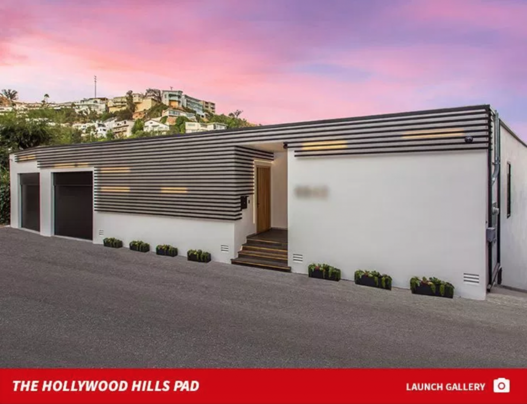 Hollywood Hills Pad