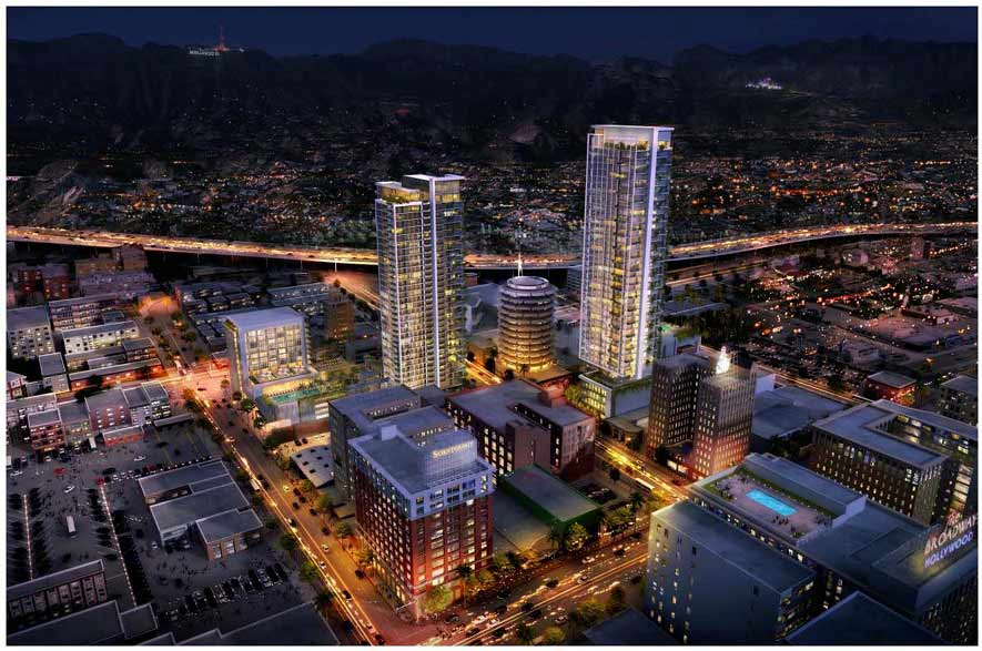 A LOOK AT CAPITOL RECORDS TOWERS DEVELOPMENT