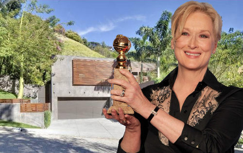 Meryl Streep Buys Honnold & Rex Research House in the Hills